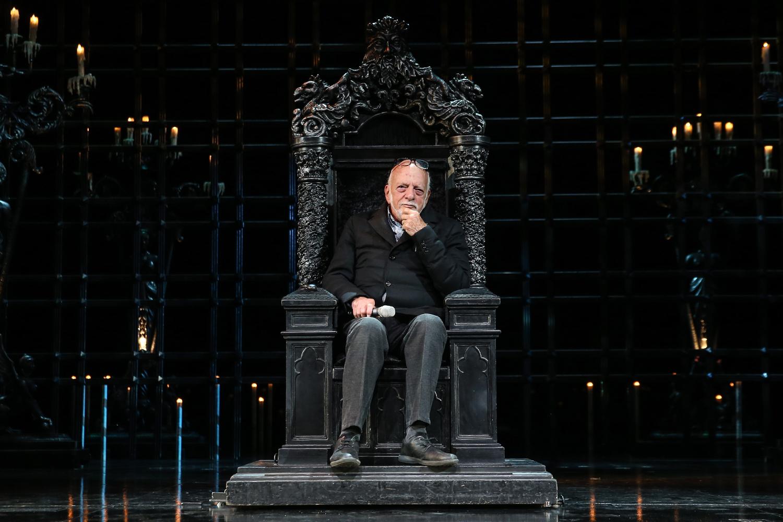 Hal Prince The Phantom of the Opera Rehearsal