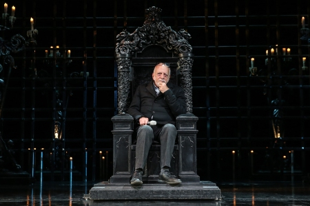 Hal Prince The Phantom of the Opera Rehearsal