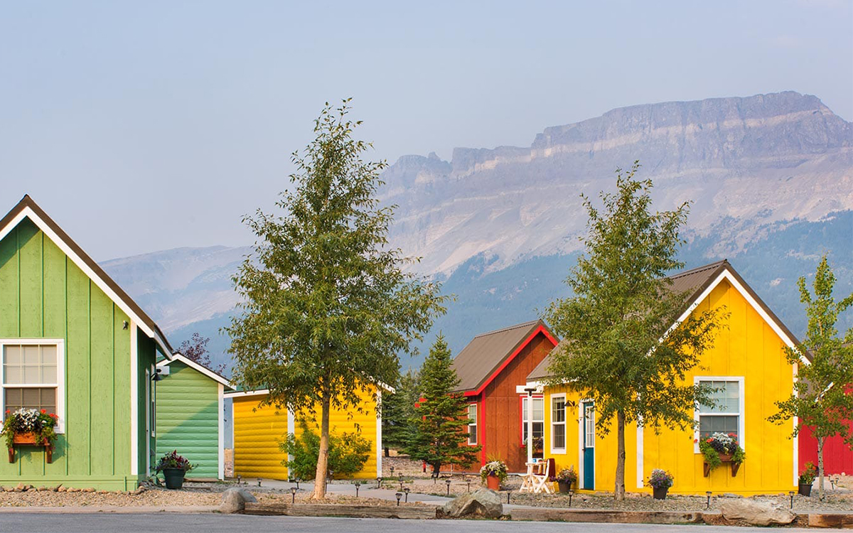 Tiny Home Village Two Minutes from Glacier National Park - InsideHook