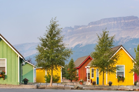 You Can Now Stay in a Tiny Home Park Two Minutes from Glacier National Park