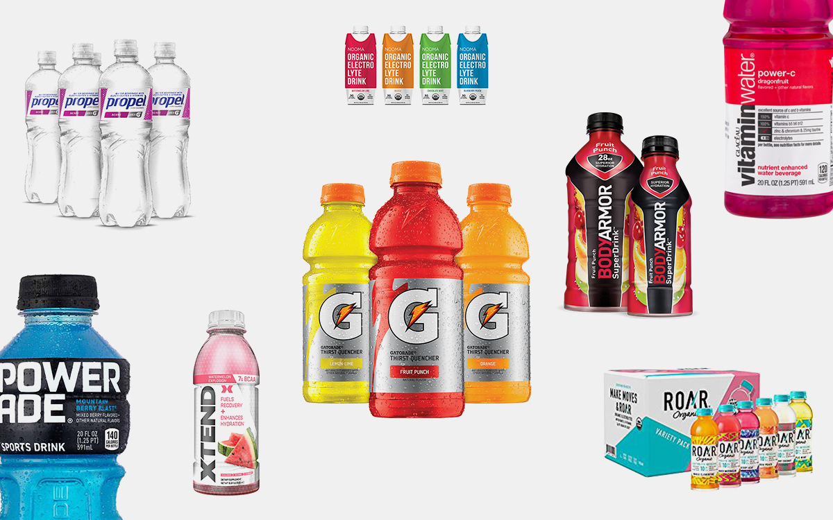 The Healthiest Sports Drinks According to a Nutritionist