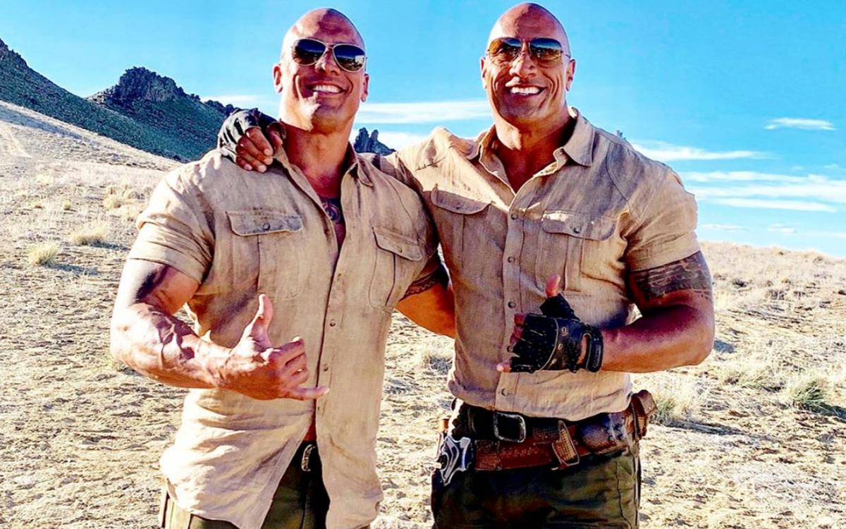The Rock's Stuntman