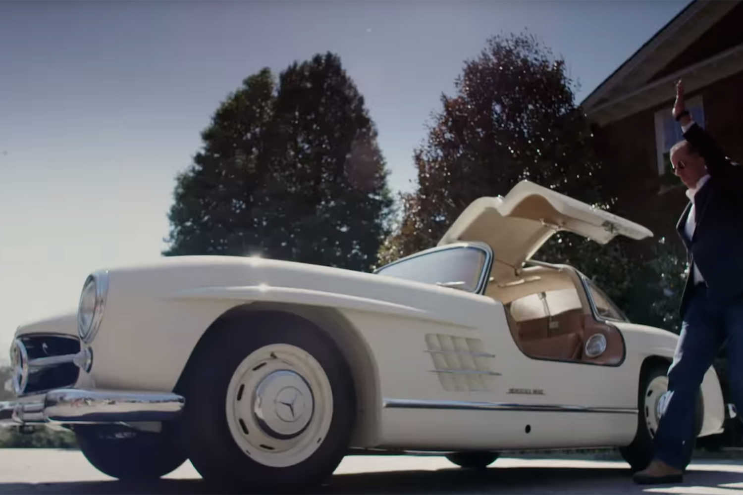 Best Comedians in Cars 1955 Mercedes-Benz 300 SL Gullwing Jerry Seinfeld