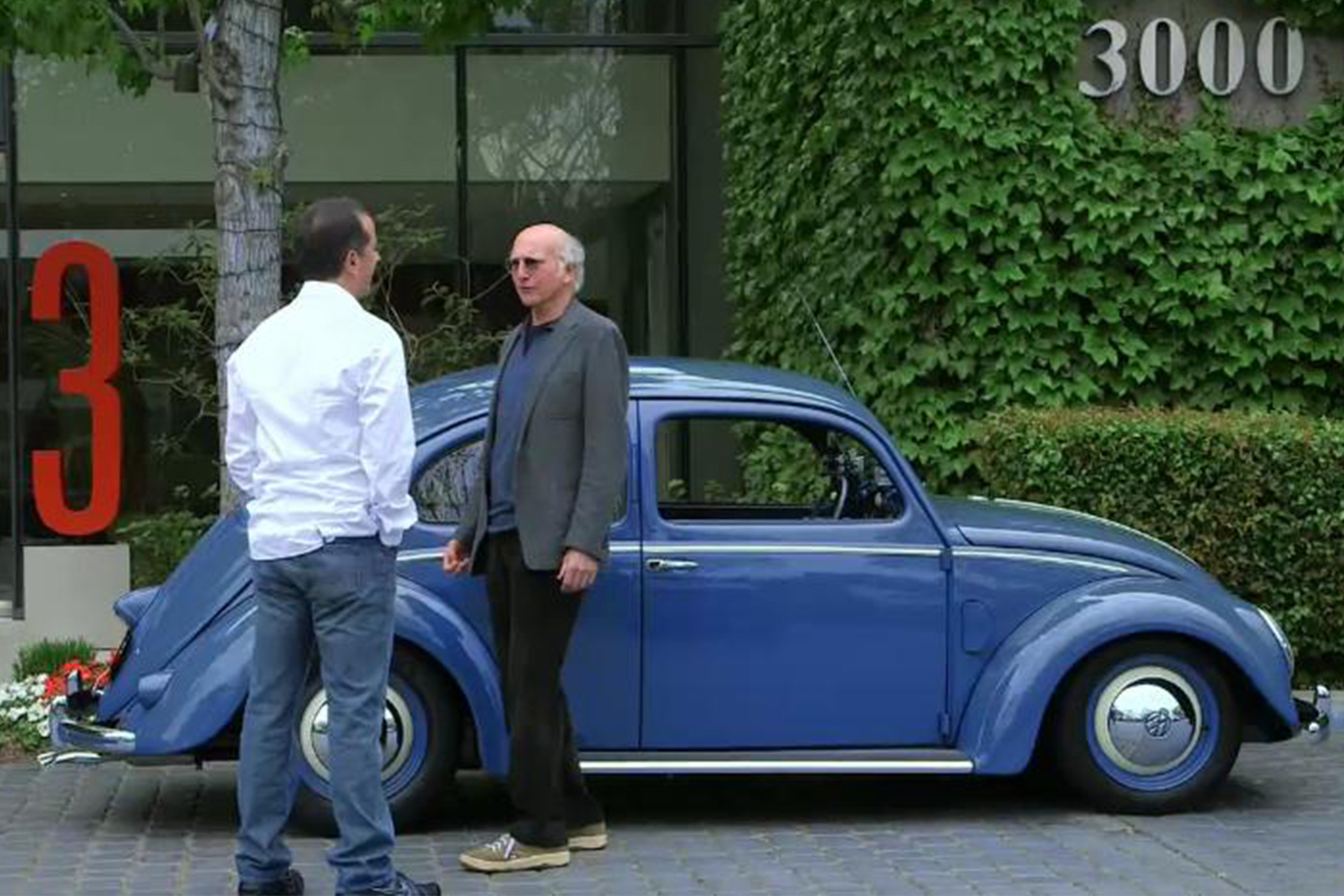 1952 Volkswagen Beetle Larry David Comedians in Cars