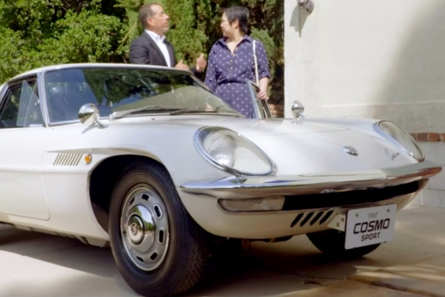 Comedians in Cars Getting Coffee Margaret Cho 1967 Mazda Cosmo Sport