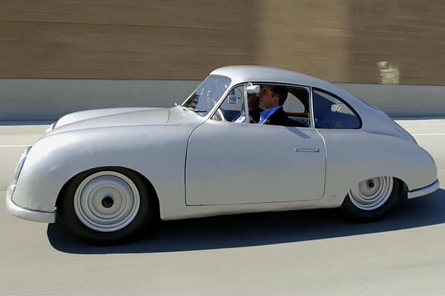Best Comedians in Cars Jay Leno Jerry Seinfeld 1949 Porsche 356/2