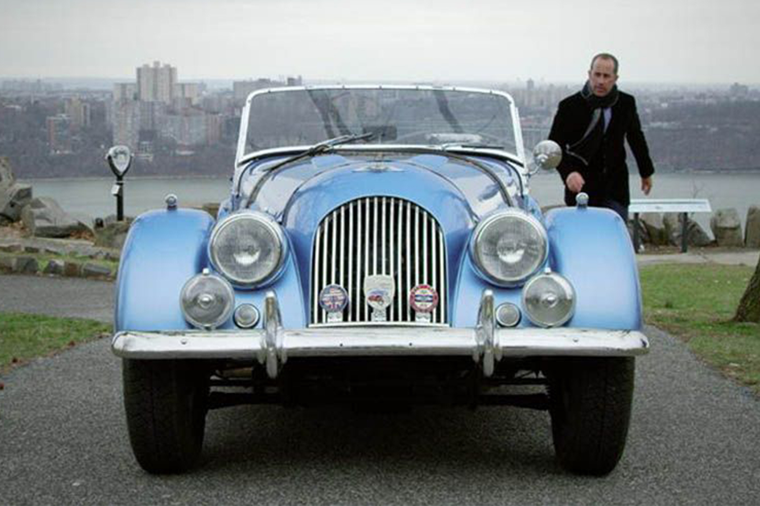 Best Comedians in Cars Getting Coffee 1964 Morgan Plus 4