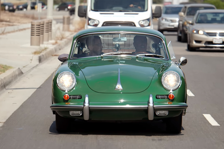 1965 Porsche 356C Comedians in Cars Neal Brennan