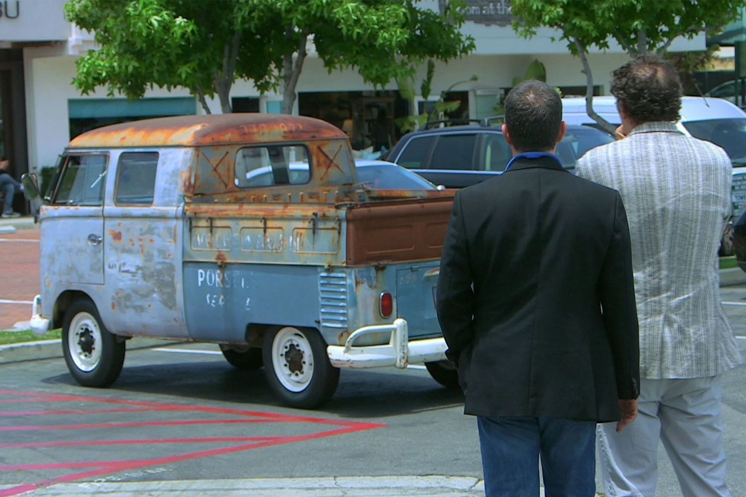 Volkswagen Double Cab Pickup Comedians in Cars