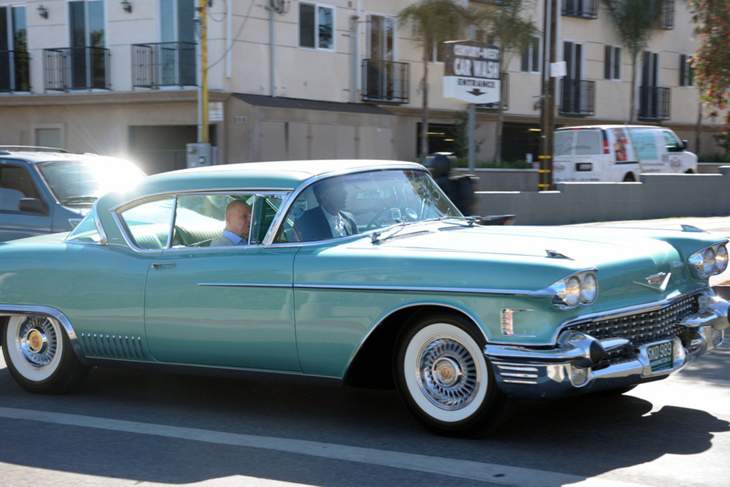 1958 Cadillac Eldorado Comedians in Cars Getting Coffee