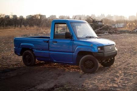 Kaiyun Motors Pickman Electric Pickup Truck