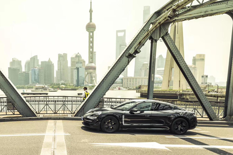 Premiere of the Porsche Taycan Electric Sports Car