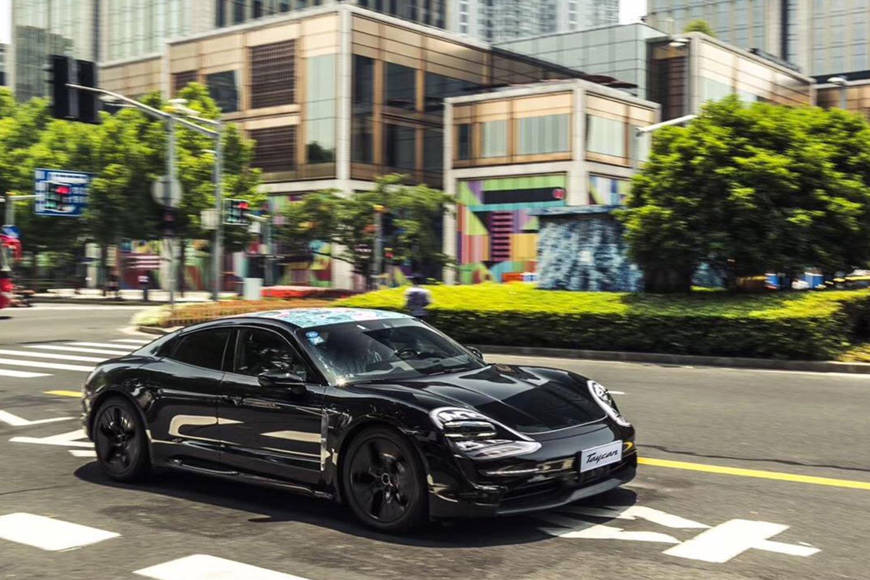 Porsche Taycan Electric Vehicle World Tour