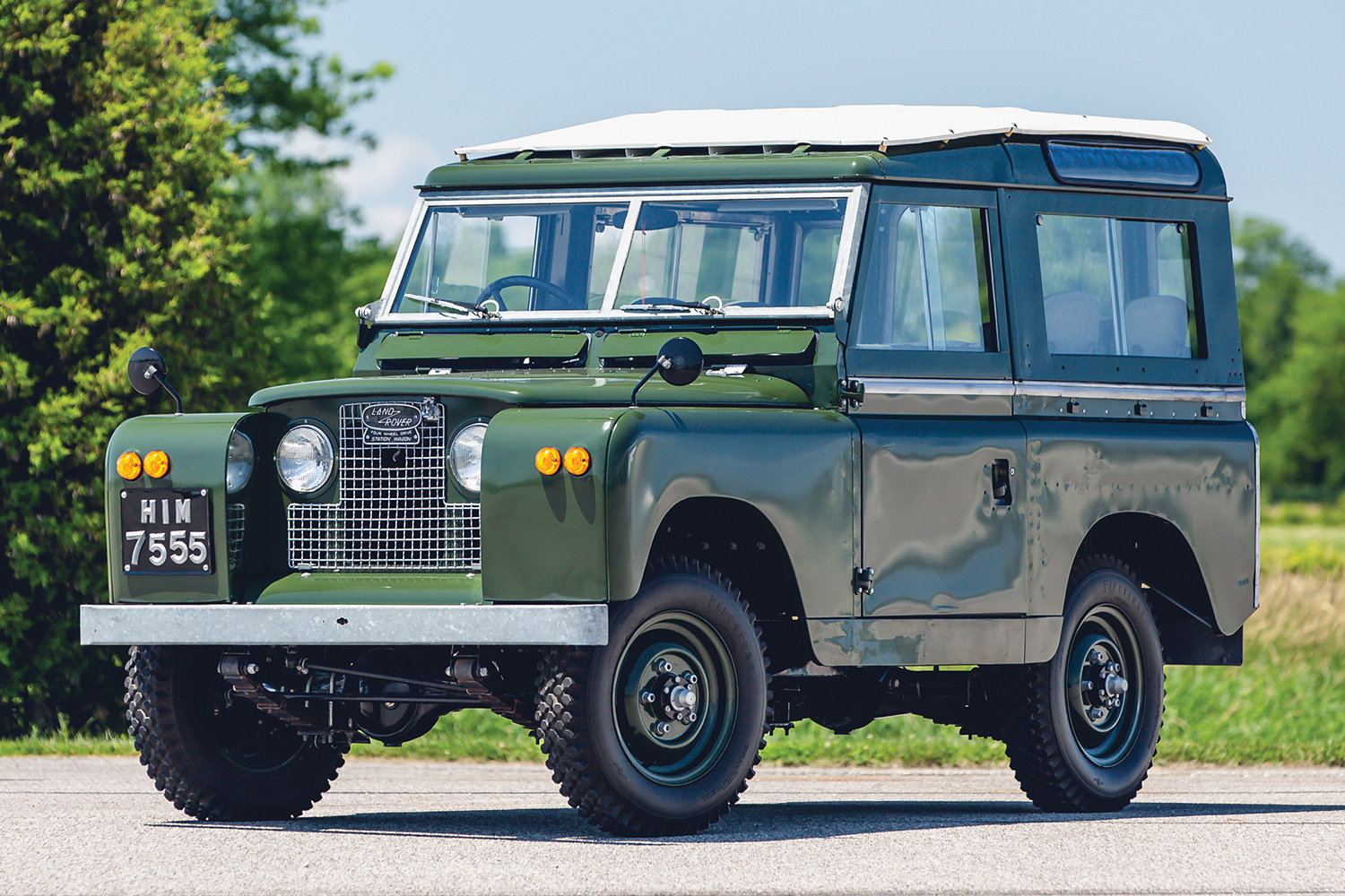 The Dalai Lama's Land Rover Series IIA Is Up for Auction