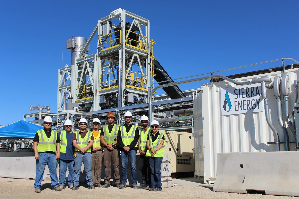 Sierra Energy FastOx Gasification Facility
