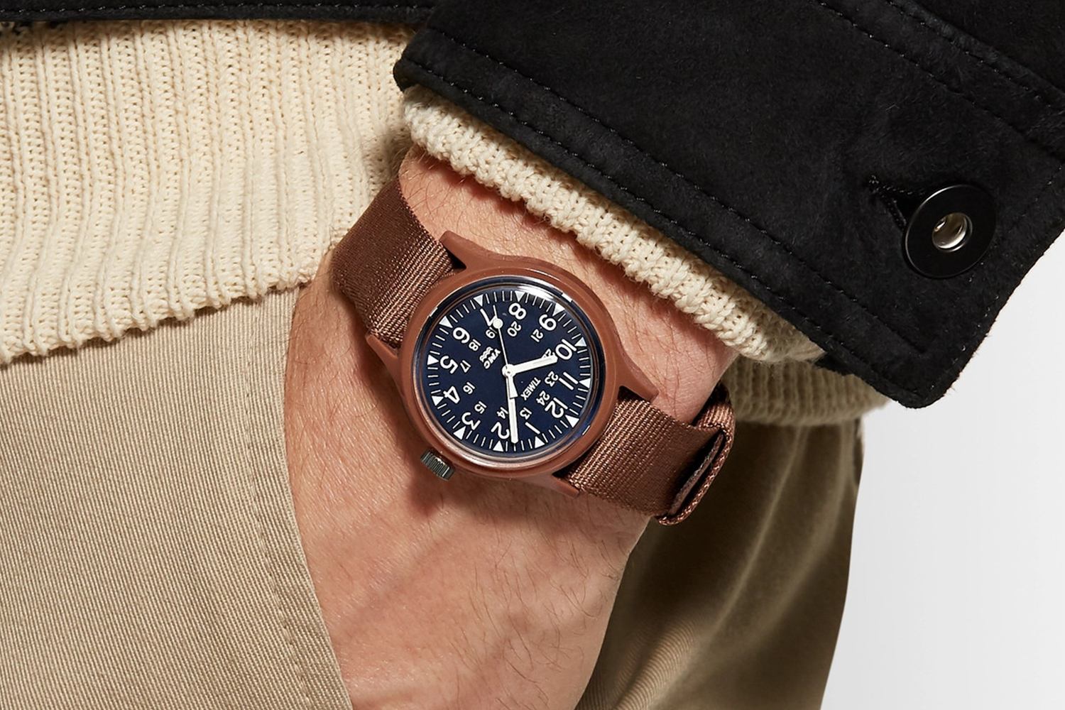 Timex and YMC Limited-Edition Military-Inspired MK1 Watch