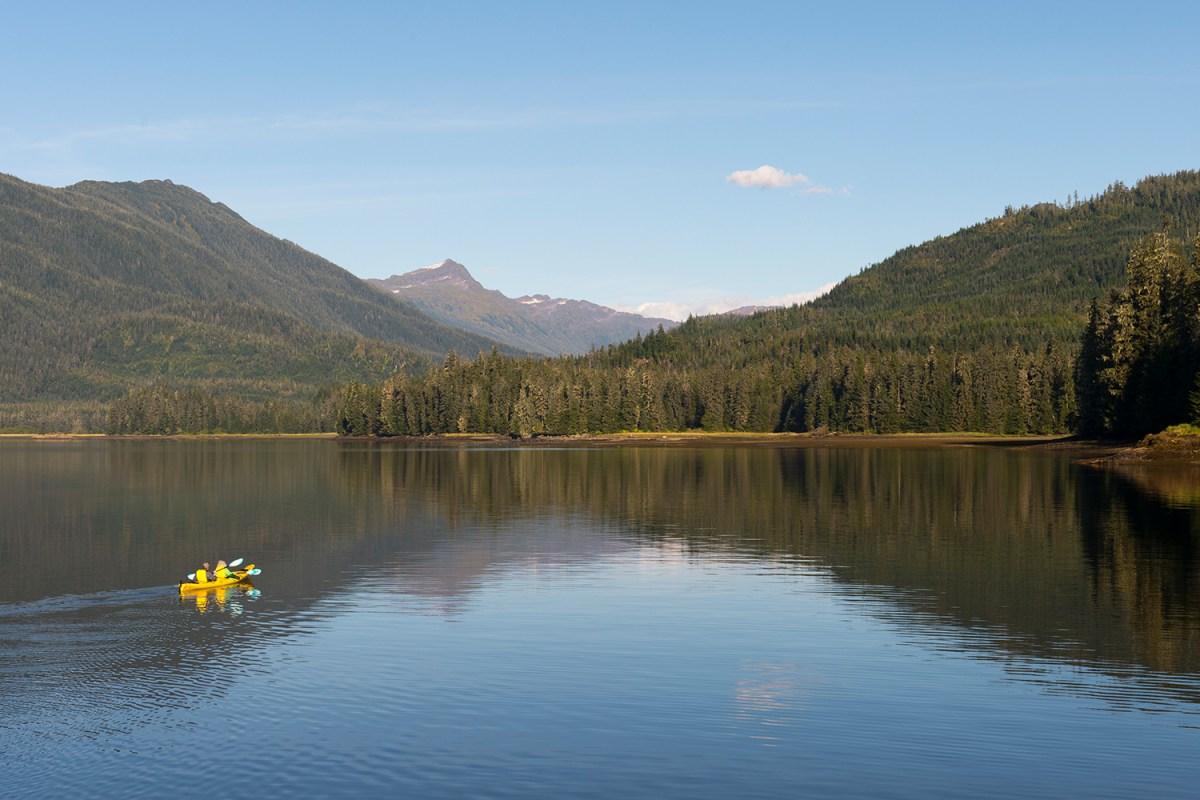 tongass national park alaska kayaking