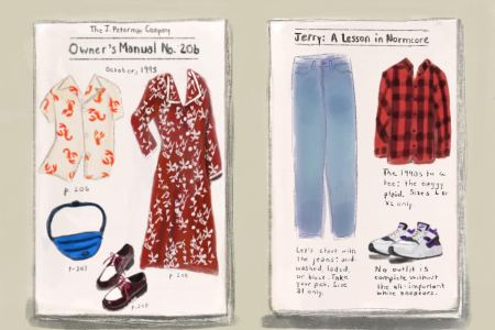 """J. Peterman is all about """"the power of clothing, and it's the power of a good story."""" (Leah Odze Epstein for InsideHook)"""