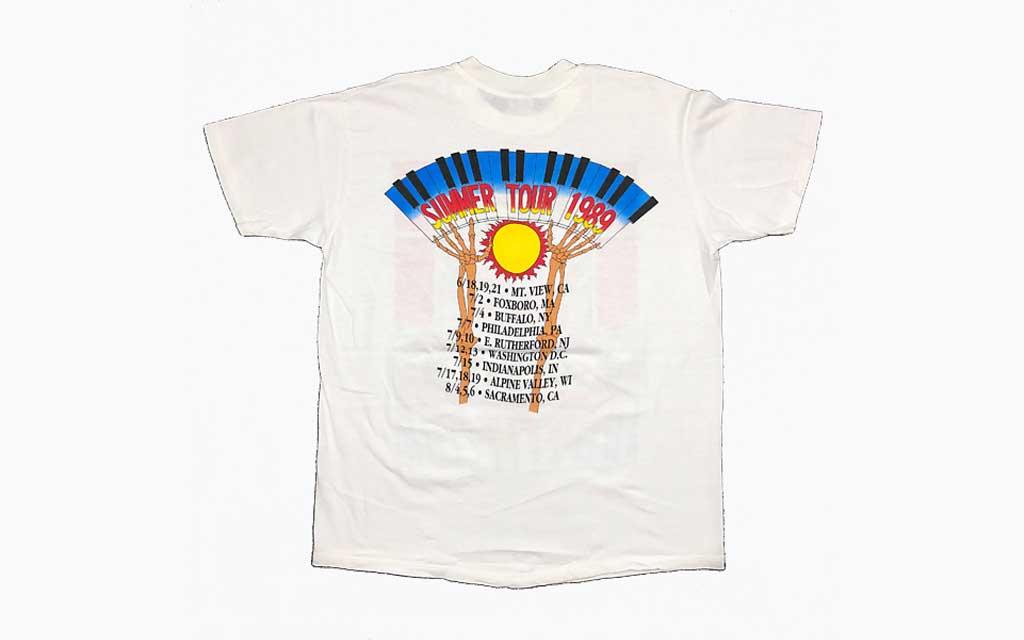 1989 Official Tour Tee (Back) Grateful Dead