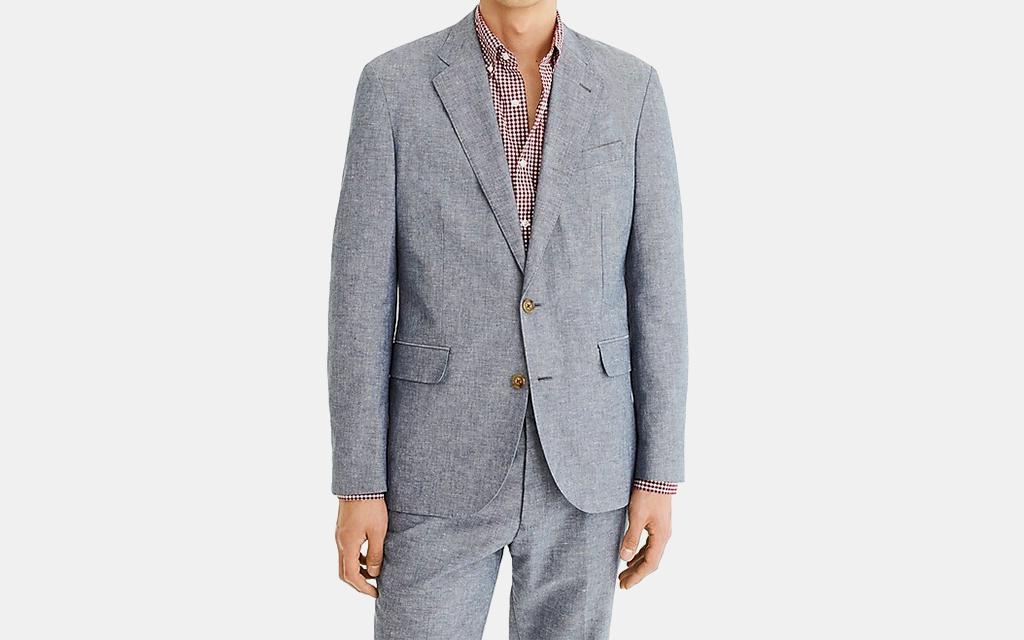J.Crew Ludlow Classic-fit Unstructured Suit Jacket
