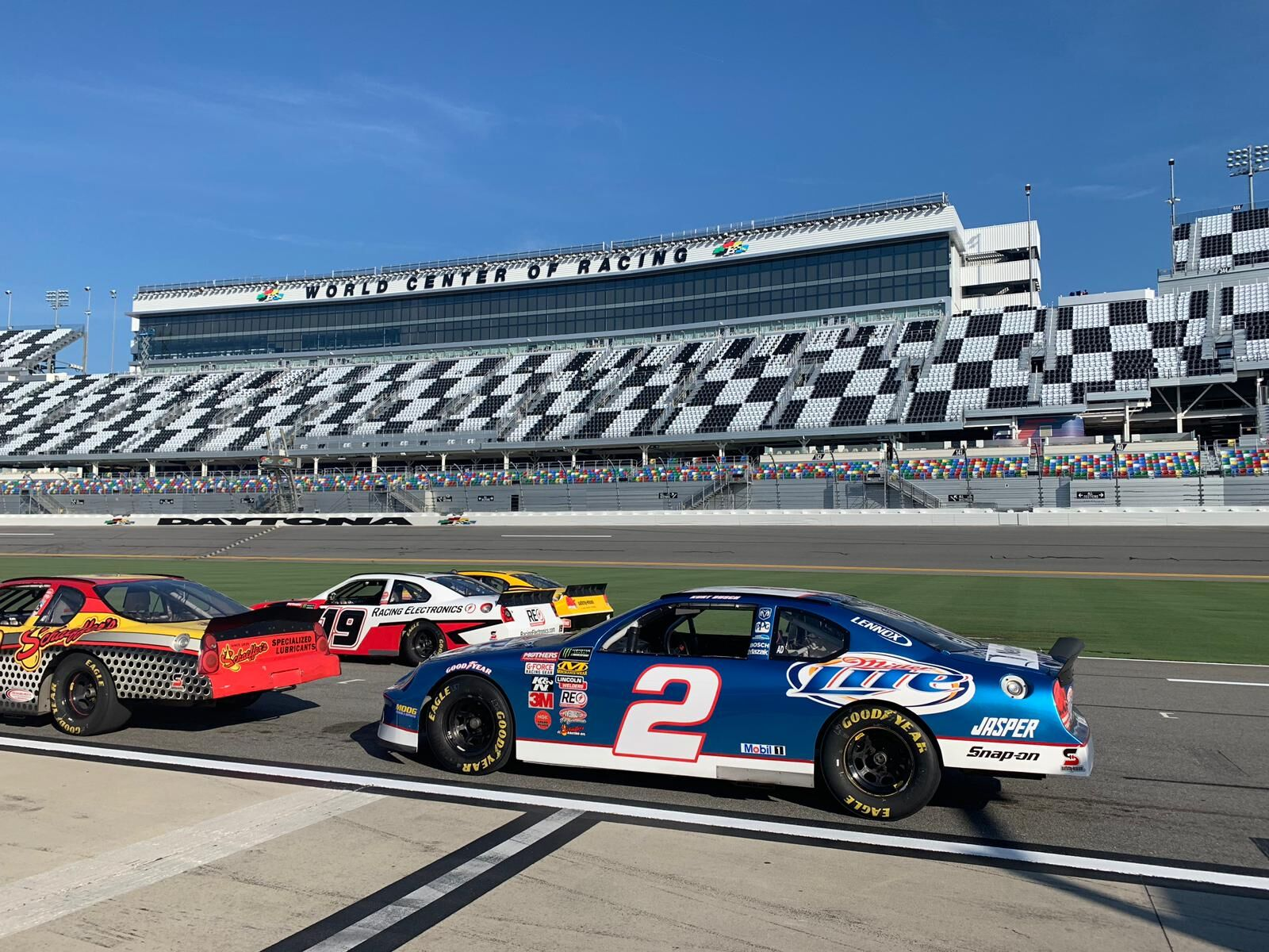 What It's Like to Race Daytona International Speedway