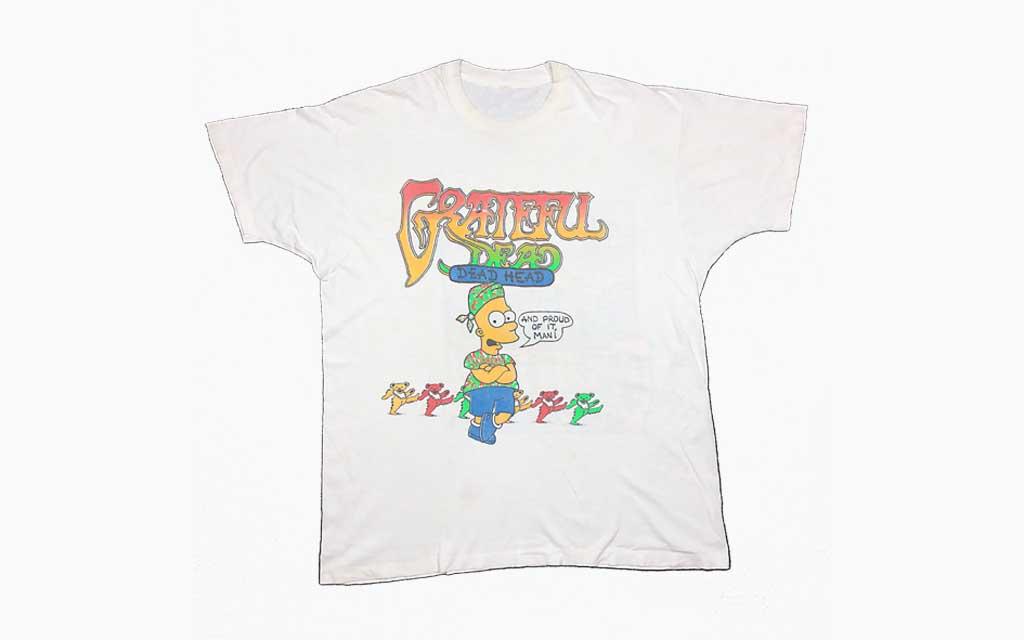 Early 90s Lot Tee Grateful Dead
