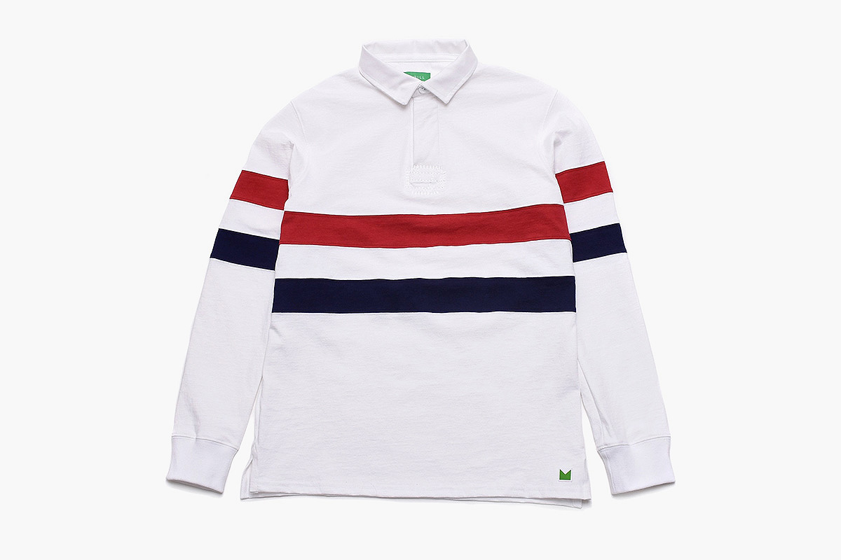 American Trench x Magill Kennedy Rugby in White