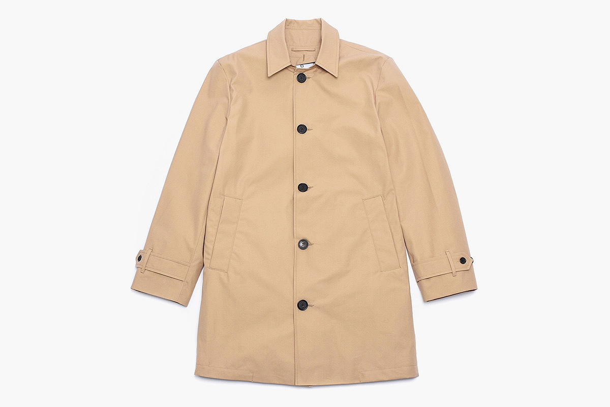 American Trench Coat in Khaki