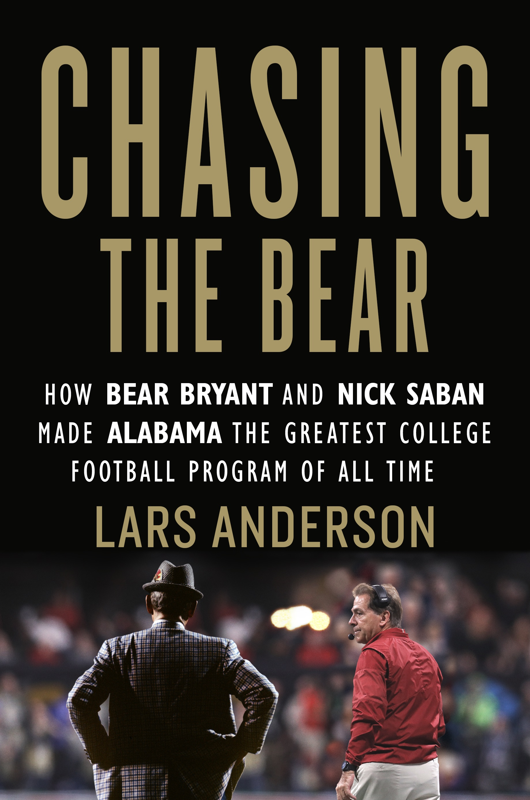 Chasing the Bear by Lars Anderson hit shelves on September 3rd.