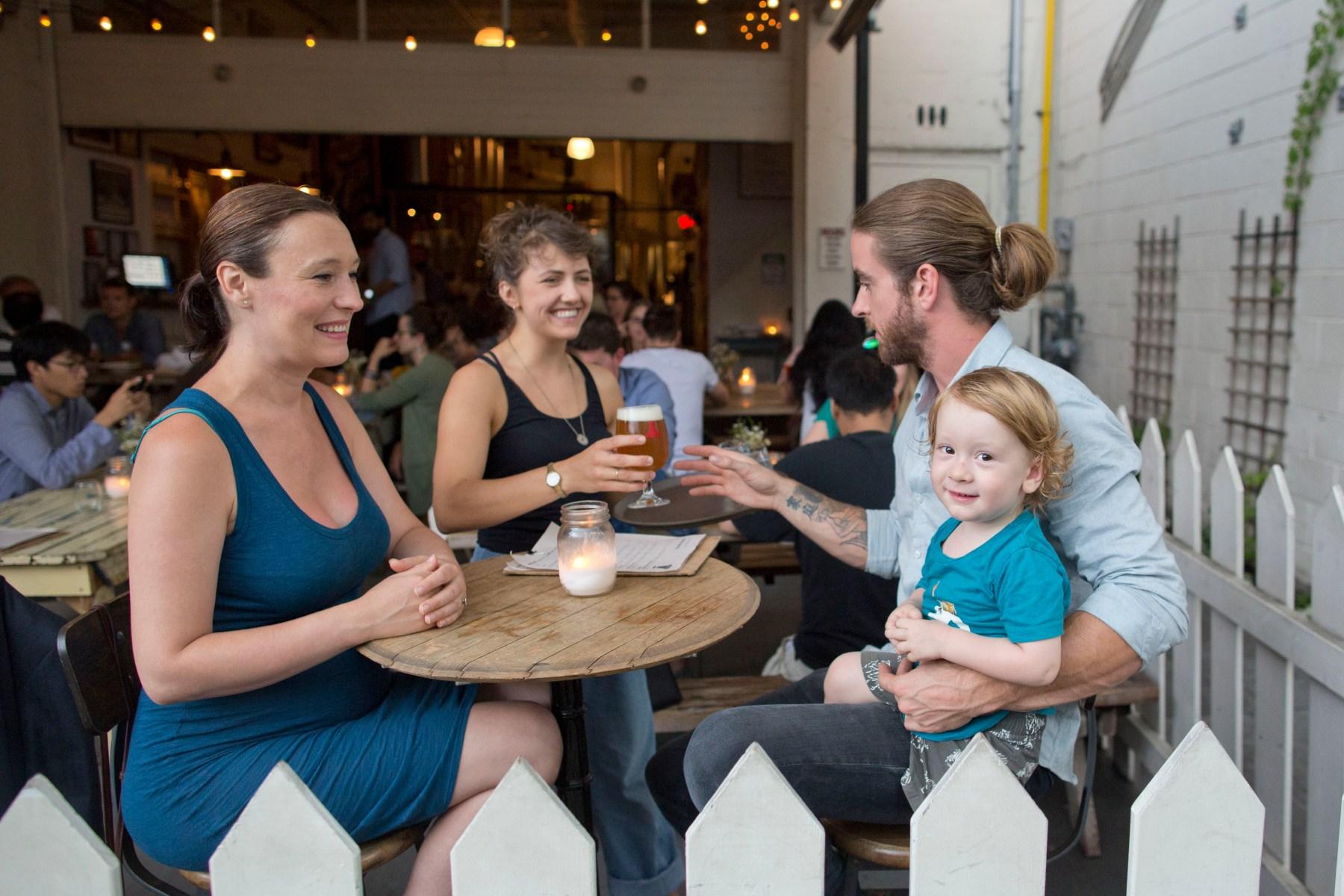 Baby's first beer garden