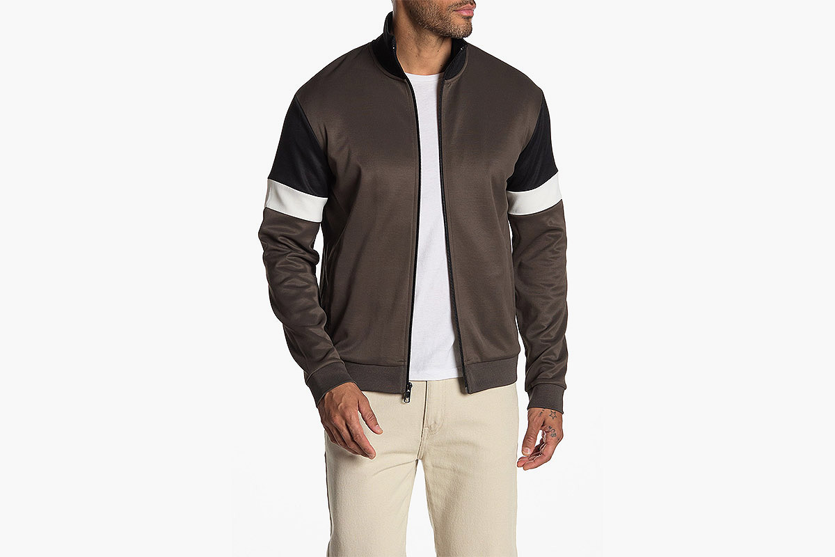Vince Colorblock Track Jacket