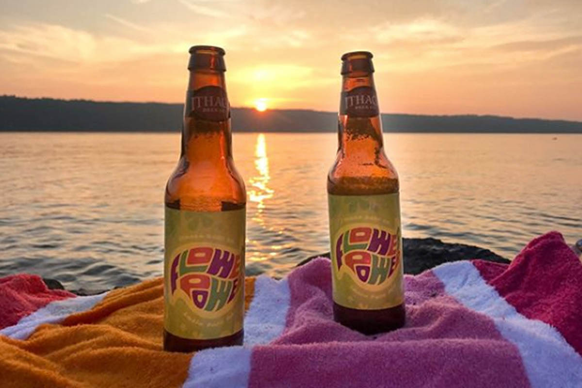 Ithaca Beer Co Flower Power