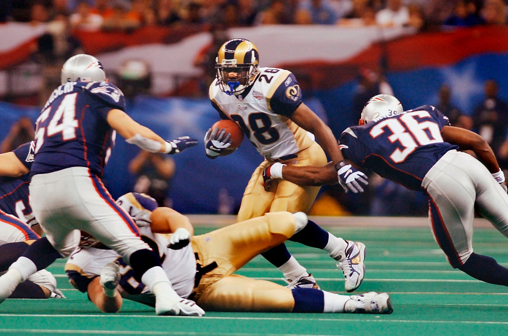 Patriots/Rams Super Bowl