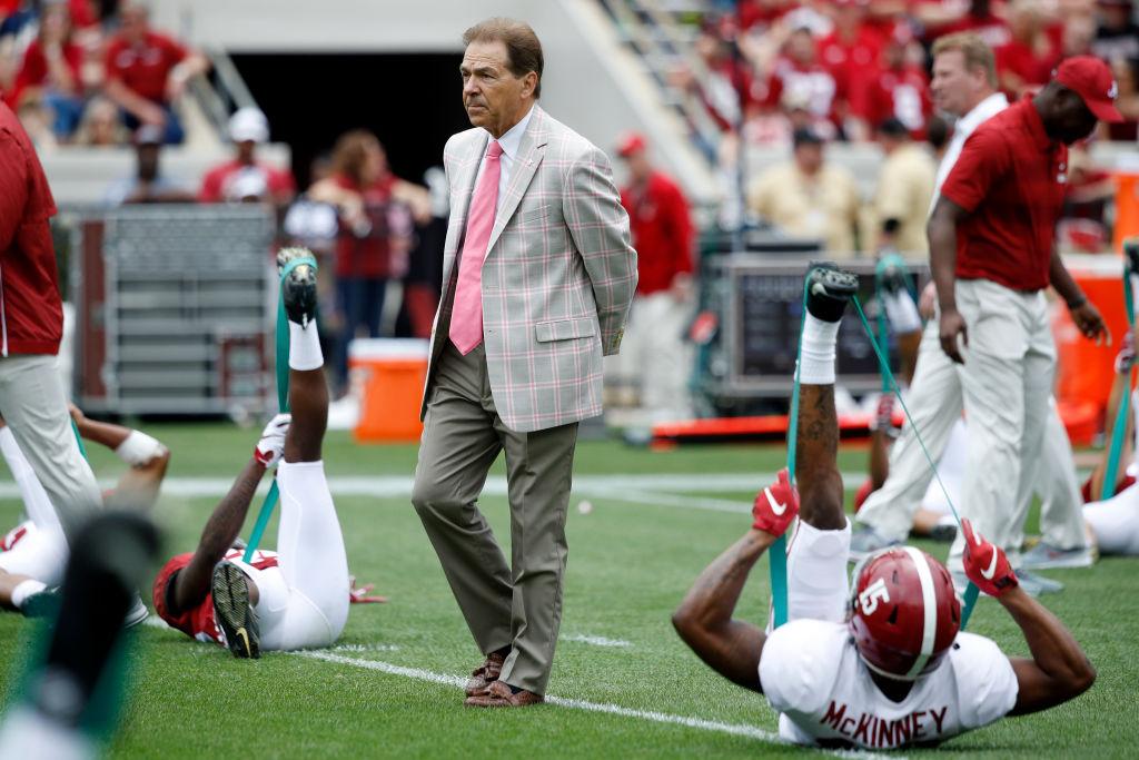 Despite No. 2 Ranking, Alabama is No Underdog Under Nick Saban