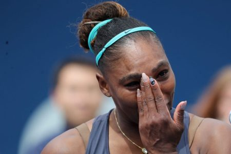 Serena Williams at the Rogers Cup.