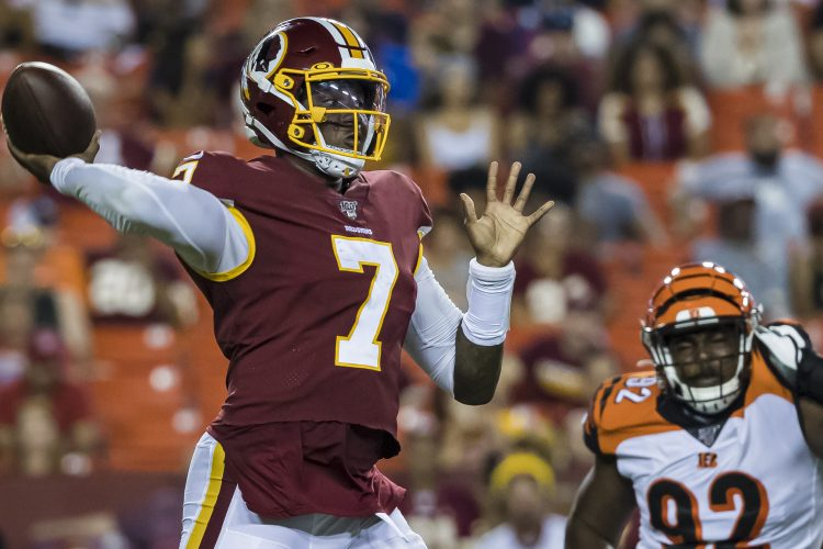 Washington's Dwayne Haskins Flashes Potential With Deep TD
