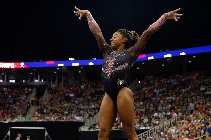 Simone Biles floor exercise