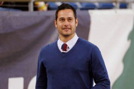 Real Salt Lake head coach Mike Petke