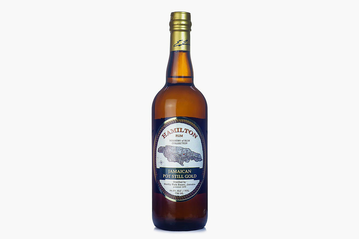 Hamilton Jamaican Pot Still Gold rum