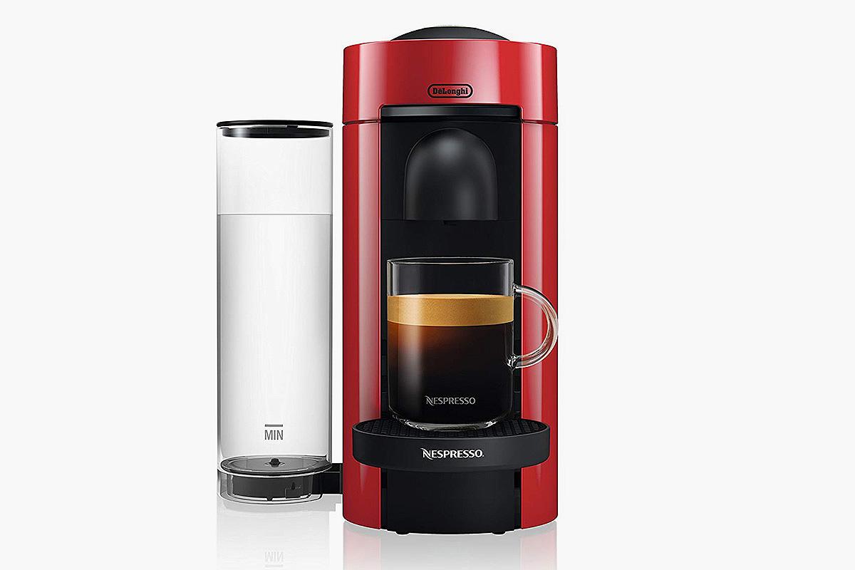 Nespresso by De'Longhi ENV150R VertuoPlus Coffee and Espresso Machine