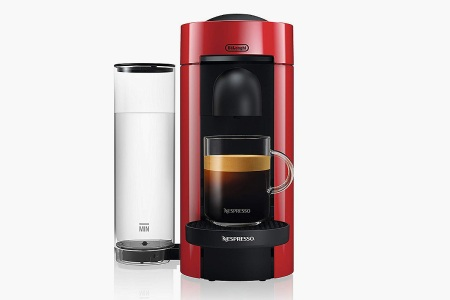 Nespresso by De'Longhi ENV150R VertuoPlus Coffee and Espresso Machine