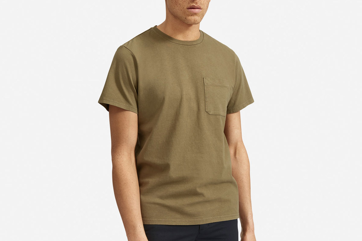 Everlane Premium Weight Pocket Tee