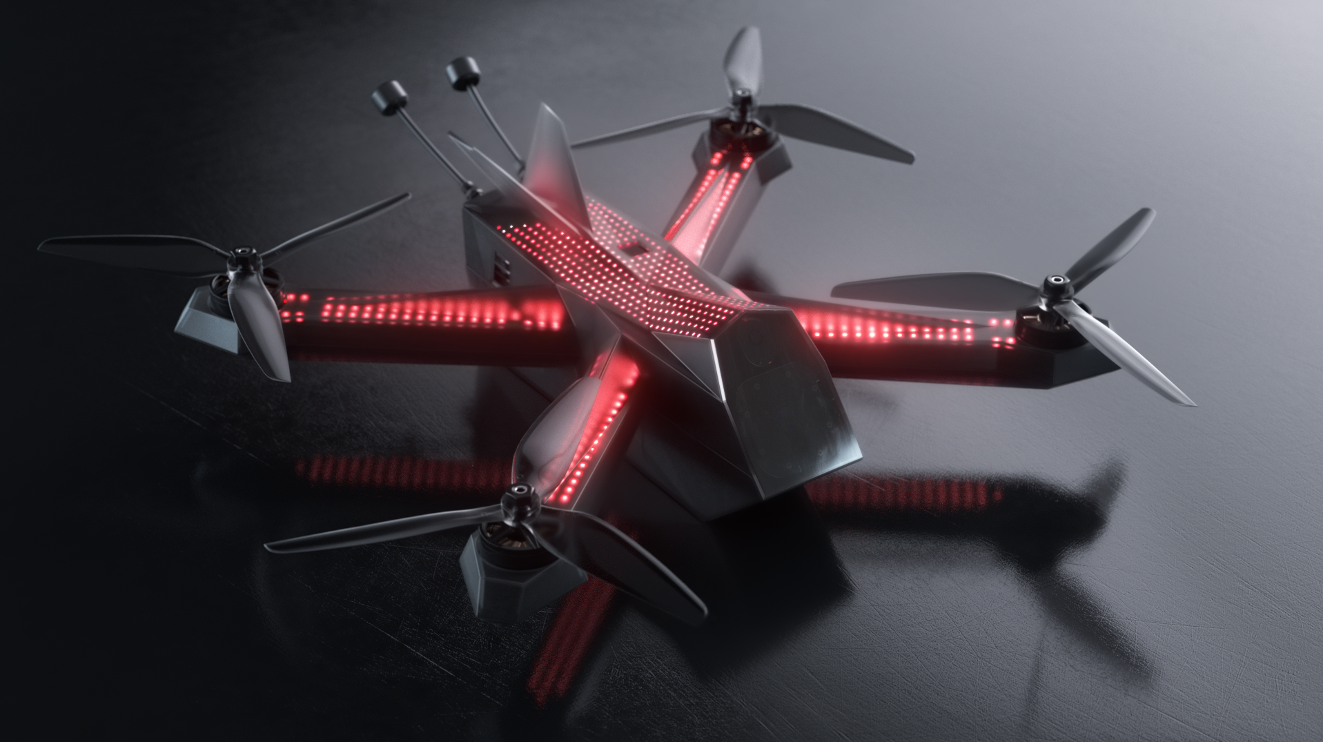 DRL Racer4 Drone from the Drone Racing League