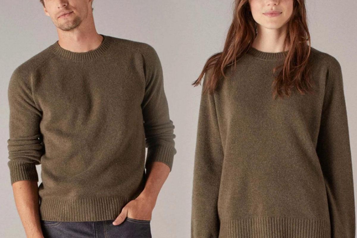 Naadam Luxe Unisex Cashmere Sweater