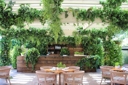 The Botanist pop-up bar (Courtesy Rosewood Sand Hill)