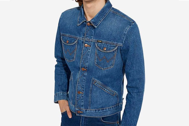 Wrangler's 124MJ Men's Denim Jacket