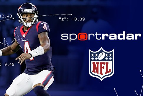 The NFL and Sportradar expand partnership. (Sportradar)