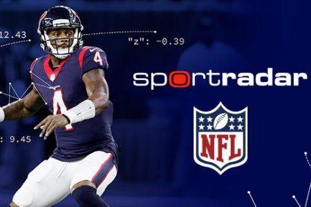 The NFL and Sportradar expand partnership. (Sportradar)