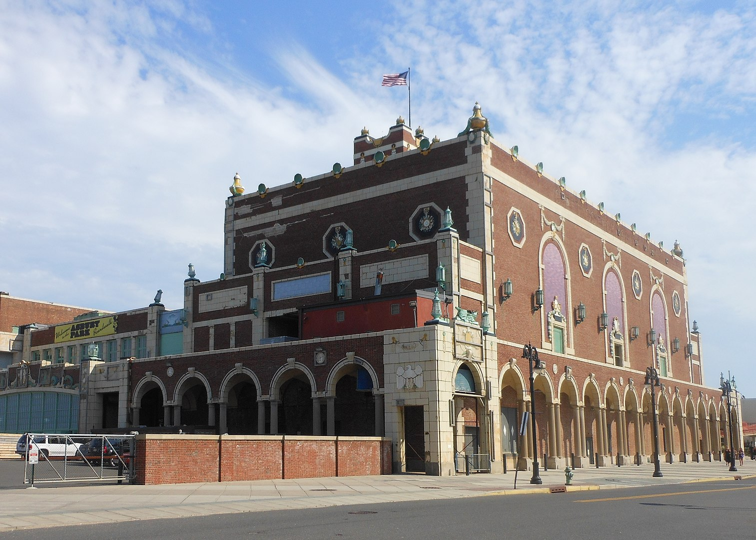 Convention Hall in Asbury Park, NJ