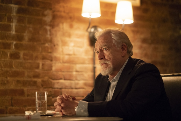 Brian Cox on HBO's Succession